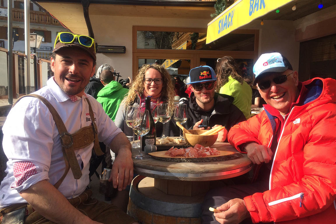 Après Ski in Bar Peter in Arabba